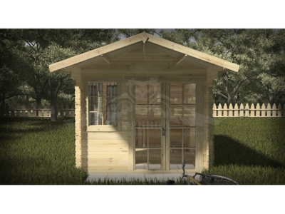 Домик садовый из бруса